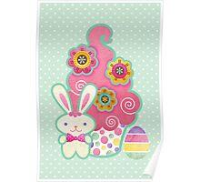 Easter Cupcake Poster