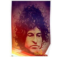 Bob Dylan-Like a rolling stone Poster