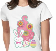 Easter Cupcake Womens Fitted T-Shirt
