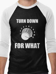 Turn Down 4 WHAT Men's Baseball ¾ T-Shirt