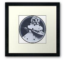 Musical Owl Framed Print