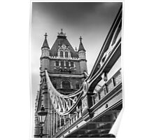 London Tower Bridge Poster