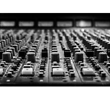 Sound board / Console de son Photographic Print