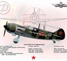 Lavochkin La-5 by A. Hermann