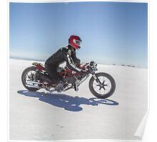 Ducati Monster Salt Racer Poster