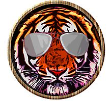 Jungle beast with glasses Photographic Print