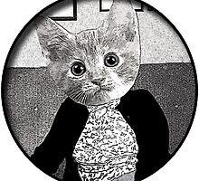 cat friend by Rob Cox