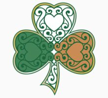 Shamrock and Heart Design by Jamie Wallace