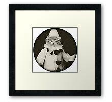 Cat Clown Framed Print