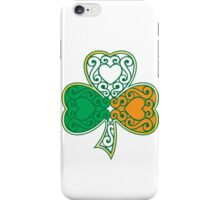 Shamrock and Heart Design iPhone Case/Skin