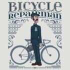 Bicycle Repairman by DoodleDojo