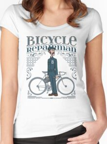 Bicycle Repairman Women's Fitted Scoop T-Shirt