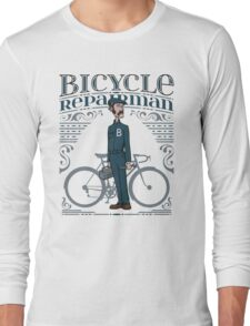 Bicycle Repairman Long Sleeve T-Shirt