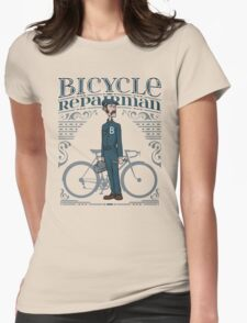 Bicycle Repairman Womens Fitted T-Shirt