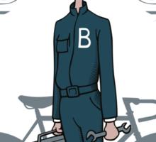 Bicycle Repairman Sticker