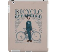 Bicycle Repairman iPad Case/Skin