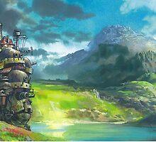 Howl's Moving Castle by alakaprazolam