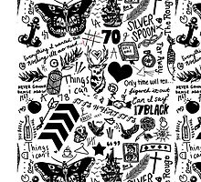 1D Tattoos 2015 by eliannadraws