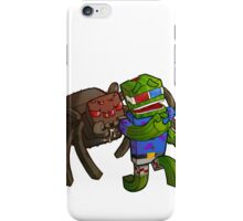 Bashur Hates Spiders! iPhone Case/Skin