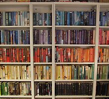 Bookcase Colours Bright by efy1