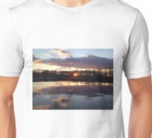 New Jersey Sunset at a Winery Unisex T-Shirt
