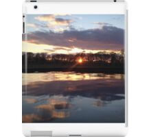 New Jersey Sunset at a Winery iPad Case/Skin