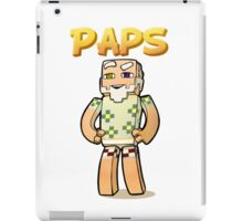 It's Paps!  (with shirt) iPad Case/Skin