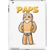 It's Paps! (shirtless) iPad Case/Skin