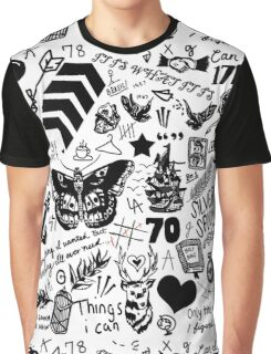 1D Tattoos Updated (2015) Graphic T-Shirt