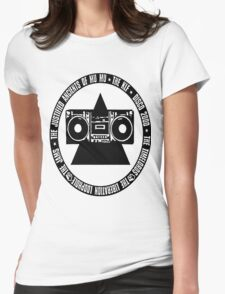 KLF Circled Pyramid Blaster Womens Fitted T-Shirt