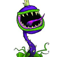 Plants vs Zombies Chomper by Justin Unrau