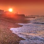Brighton Seafront Sunrise 1 - HDR by Colin J Williams Photography