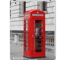 London phone box iPad Case/Skin