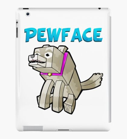 It's Pewface! iPad Case/Skin