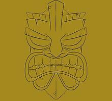 Tiki-Mask by Josh Spacagna
