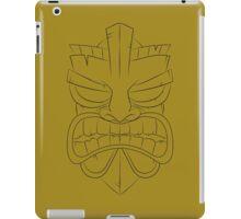 Tiki-Mask iPad Case/Skin