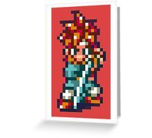 Crono - Chrono Trigger Greeting Card