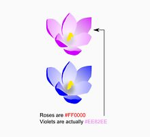Roses are #FF0000 Unisex T-Shirt