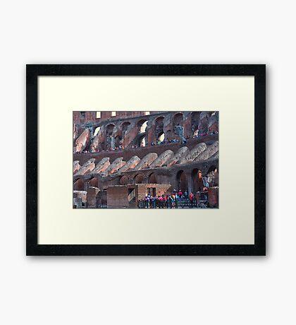 Un pedazo de historia........................ Framed Print