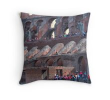 Un pedazo de historia........................ Throw Pillow