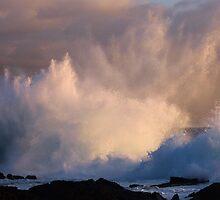 Spectacular Sunset Splash! by Randy Richards