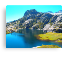 Canyon Creek, Trinity Alps Wilderness, CA Canvas Print