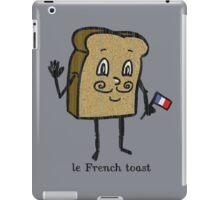 le French toast iPad Case/Skin