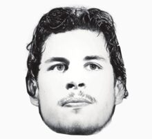 Sidney Crosby Face by vlemieux13