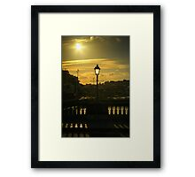 Cork bridge Framed Print