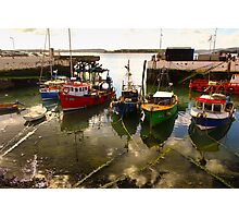 Irish dock Photographic Print