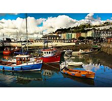Irish harbor Photographic Print