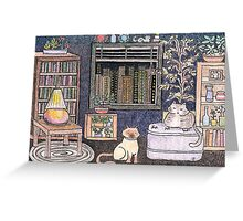 City Cats Greeting Card