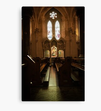 Irish cathedral Canvas Print