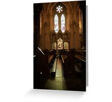 Irish cathedral Greeting Card